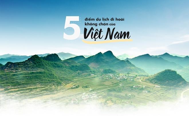5 điểm du lịch 'đi hoài không chán' của Việt Nam