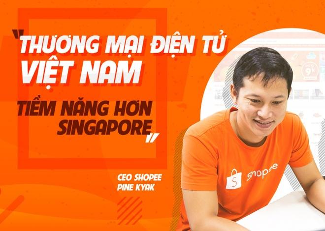 'Thuong mai dien tu Viet Nam tiem nang hon Singapore' hinh anh