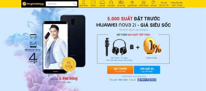 Huawei nova 2i bat dau nhan dat truoc hinh anh 1