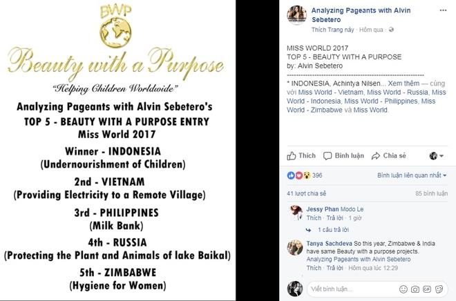 My Linh den gan danh hieu Hoa hau Nhan ai cua Miss World 2017 hinh anh 3