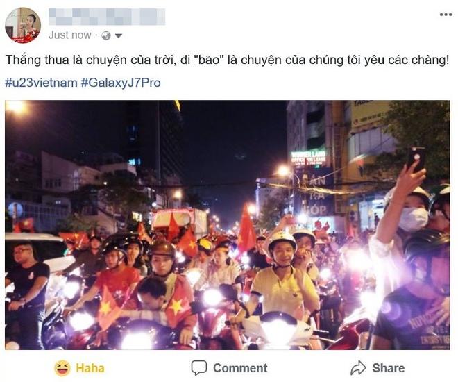 Cong dong mang Viet 'to do' Facebook bang loi cam on U23 VN hinh anh 5