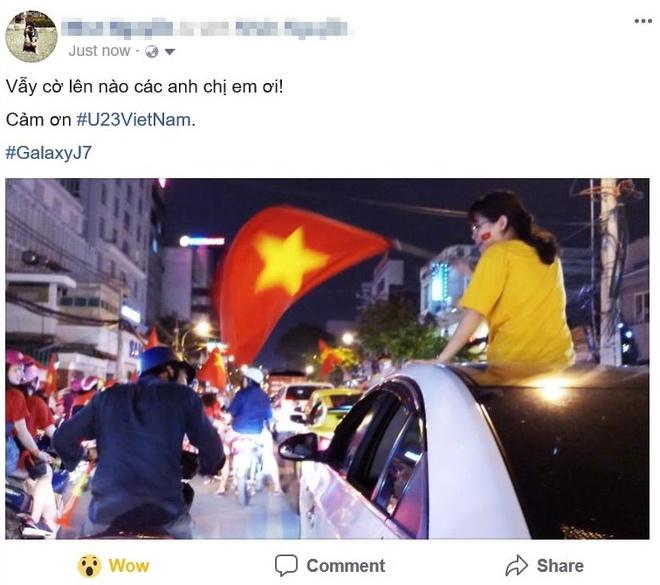 Cong dong mang Viet 'to do' Facebook bang loi cam on U23 VN hinh anh 4