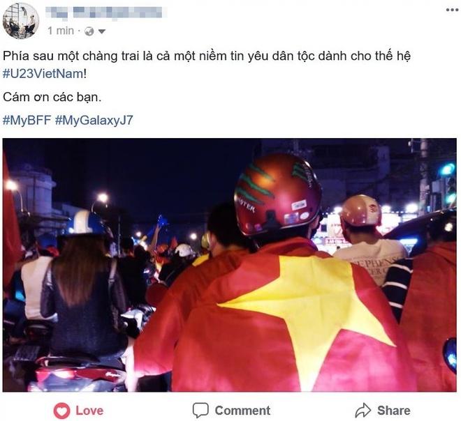 Cong dong mang Viet 'to do' Facebook bang loi cam on U23 VN hinh anh 3