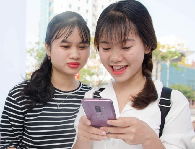 Samsung to chuc hoat dong trai nghiem Galaxy S9 cho nguoi dung Da Nang hinh anh