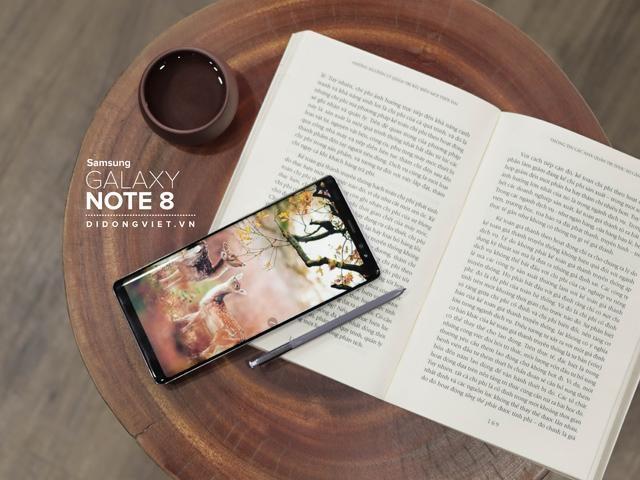 Samsung Galaxy Note 8 giá 9,5 triệu đồng tại Di Động Việt