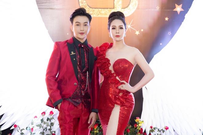 Minh Hang, Tran Thanh du tiec sinh nhat cong ty cua Nhat Kim Anh hinh anh 6