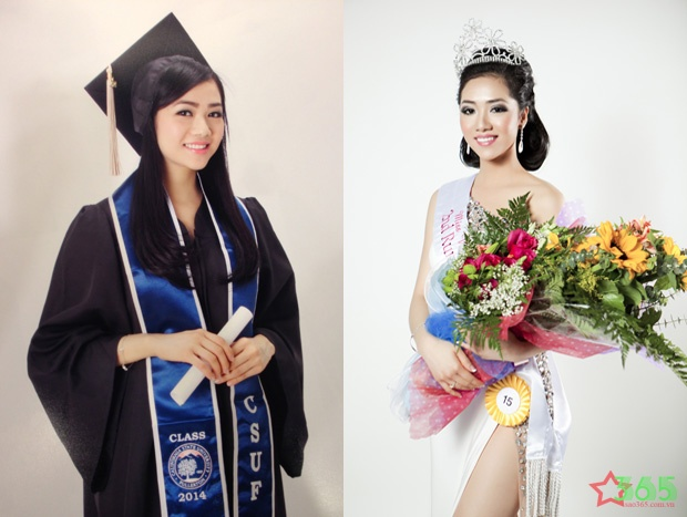 Tianne Thuy Phan - nguoi dep yeu thich cong tac thien nguyen hinh anh