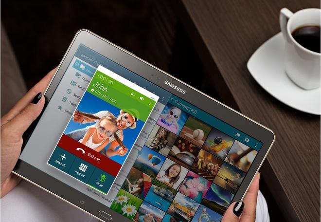 Samsung Galaxy Tab S sap ra mat nguoi dung Viet Nam hinh anh