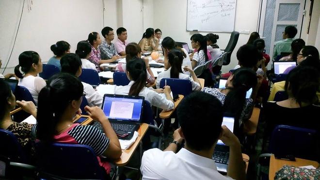 Anh xe om tro thanh giam doc cong ty xuat nhap khau hinh anh 2 Một lớp học xuất nhập khẩu chất lượng cao do anh trực tiếp đào tạo.