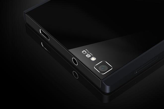 Nhac si Huy Tuan chia se ly do ung ho smartphone Viet hinh anh 2 Prime 508 có thiết kế sang trọng lấy cảm hứng từ viên kim cương đen.