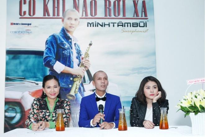 Van Trang chuc mung Minh Tam Bui ra mat MV moi hinh anh