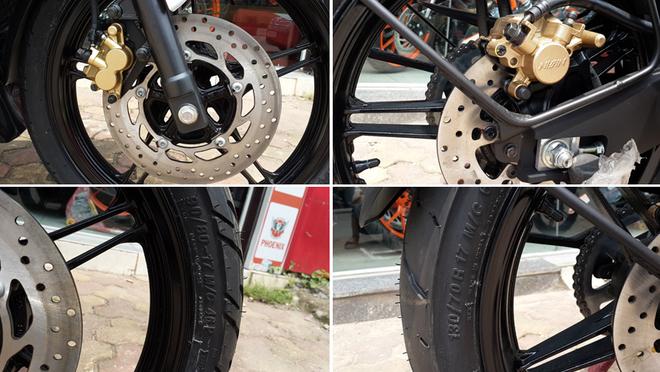 Yamaha R15 2014 mau do Dunhill gia 105 trieu dong tai Ha Noi hinh anh 6