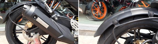 Yamaha R15 2014 mau do Dunhill gia 105 trieu dong tai Ha Noi hinh anh 9