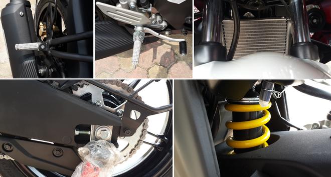 Yamaha R15 2014 mau do Dunhill gia 105 trieu dong tai Ha Noi hinh anh 10