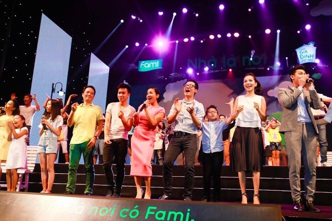 Dàn sao Việt và gia đình góp mặt trong vở nhạc kịch ý nghĩa nhân ngày Gia đình Việt Nam.