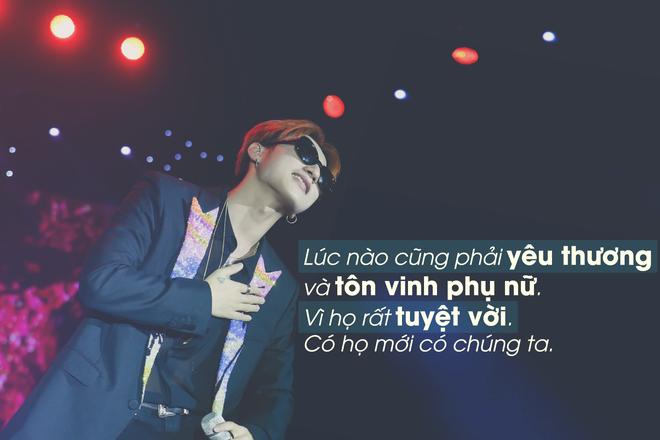 Son Tung M-TP: 'Phu nu rat tuyet voi, co ho moi co chung ta' hinh anh
