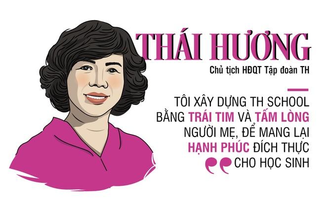 Ba Thai Huong va triet ly kinh doanh cua mot nguoi me hinh anh
