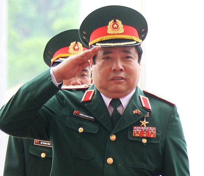 Tong bi thu truc tiep tham dai tuong Phung Quang Thanh hinh anh 1