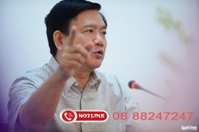 Duong day nong cua Bi thu Thang: cuoc goi den lien tuc hinh anh