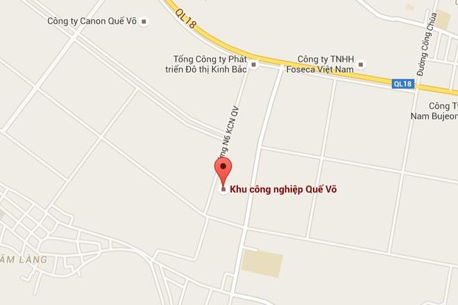 Chay lon tai KCN Que Vo, Bac Ninh hinh anh 2
