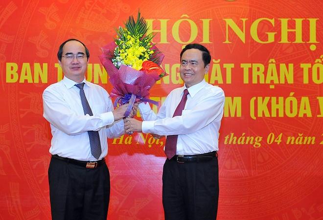 Hai Uy vien Bo Chinh tri tham gia Uy ban TU MTTQ Viet Nam hinh anh 1