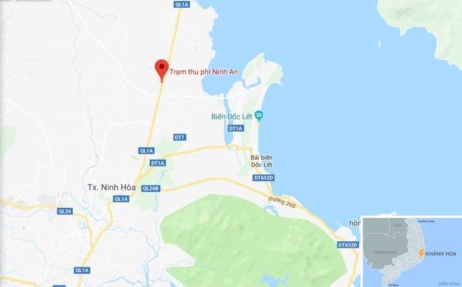 Sau BOT Cai Lay, tai xe tiep tuc tra tien le qua tram BOT Ninh An hinh anh 3