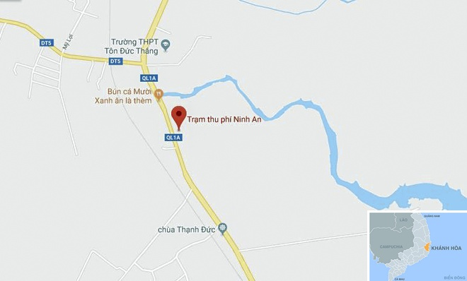 BOT Ninh Loc lai don phuong mien phi ve qua tram hinh anh 3