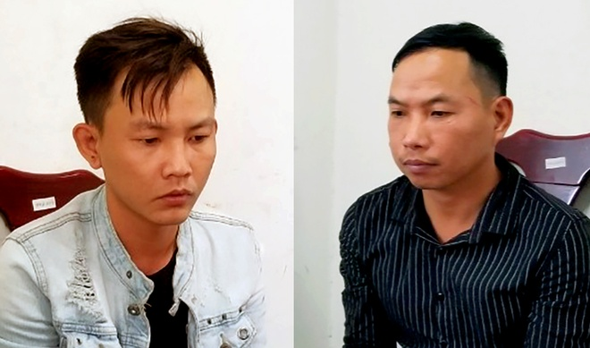 Bat hai nghi pham truy sat cap vo chong o Nha Trang hinh anh 1