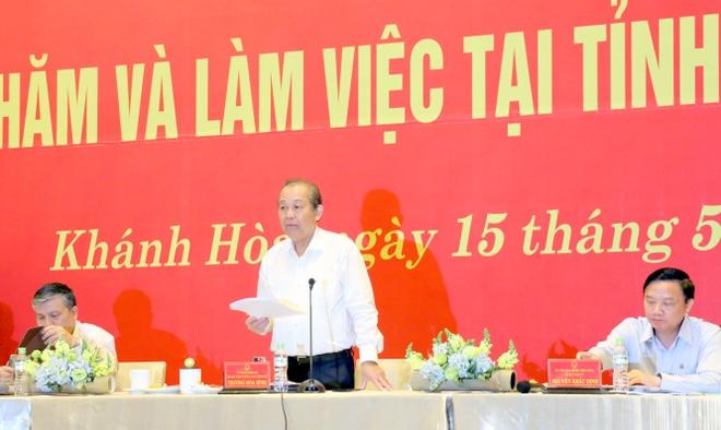 Khanh Hoa cho ra soat hon 1.000 du an cap phep trong 10 nam qua hinh anh 1 H5.jpg