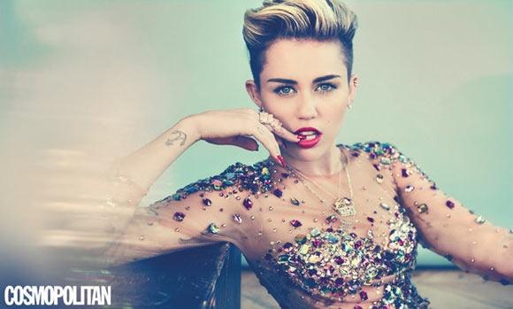 Miley Cyrus dinh nghi an mang bau hinh anh