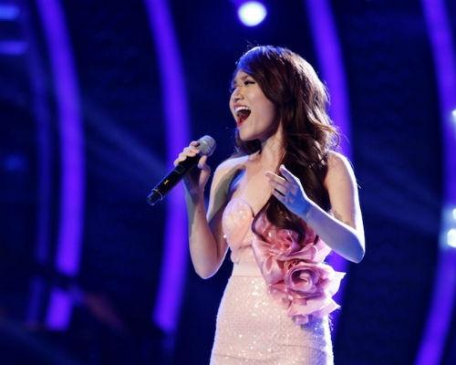 Sao Viet du doan Nhat Thuy la quan quan Vietnam Idol hinh anh