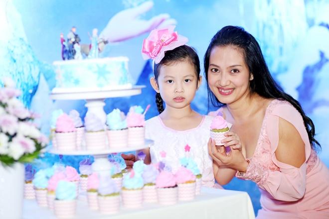 BTV Phuong Thao to chuc sinh nhat dac biet cho con gai hinh anh