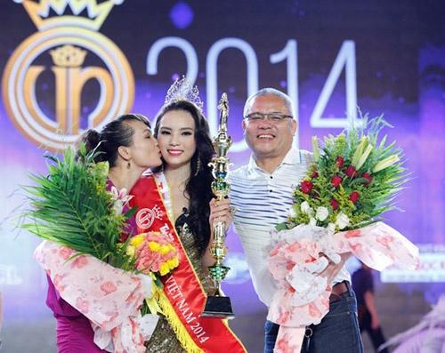 Bo hoa hau Ky Duyen: 'Khong mac cam khi con bi che' hinh anh