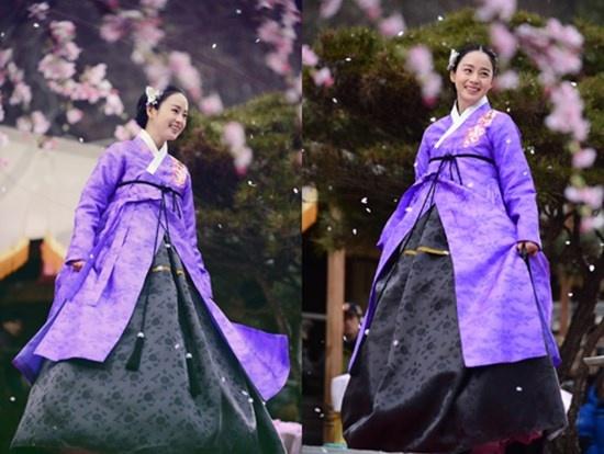 Nhung nu cuoi thien than cua Kim Tae Hee hinh anh 3 Kim Tae Hee thể hiện xuất sắc nhân vật Jang Ok Jung - từ một cô gái hiền lành  đến hoàng hậu nhiều mưu mô, thủ đoạn trong Jang Ok Jung, Lives for Love.