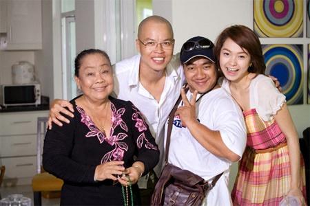 Hieu Hien ngoi chung ghe nong voi Minh Hang hinh anh 1 Hiếu Hiền từng có cơ hội đóng phim cùng Minh Hằng và rất yêu quý đàn em.