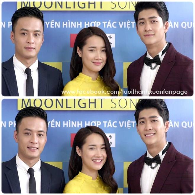 Kim Tuyen hon my nam Han trong tap cuoi 'Tuoi thanh xuan' hinh anh 2