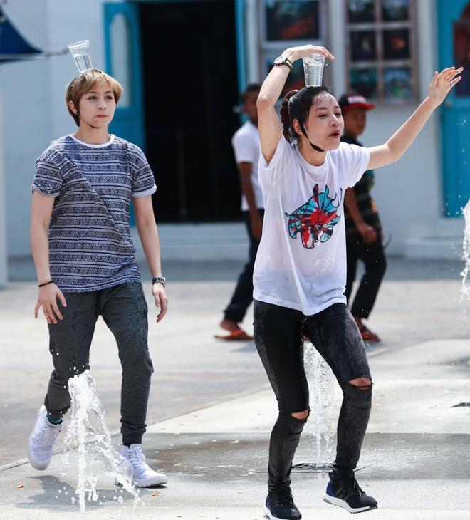Hong Que vuong nghi van yeu Harry Lu khi tham gia game show hinh anh 11