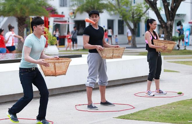 Hong Que vuong nghi van yeu Harry Lu khi tham gia game show hinh anh 14