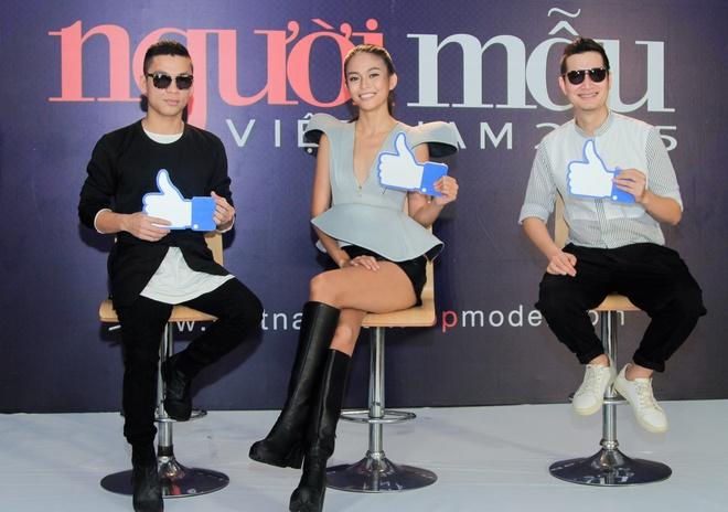 Mau Thuy noi bat khi ngoi ghe nong Next Top Model o Da Nang hinh anh 3