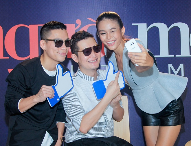 Mau Thuy noi bat khi ngoi ghe nong Next Top Model o Da Nang hinh anh 4