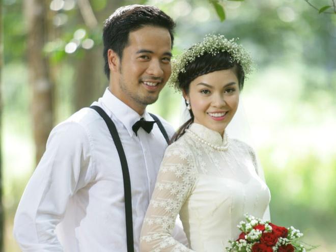 Duong Cam Lynh lam co dau cua Doan Thanh Tai trong phim moi hinh anh