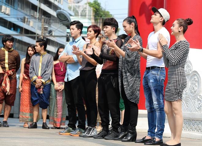 Ban gai Cuong Seven bi loai som o show Diep vu tuyet mat hinh anh 2