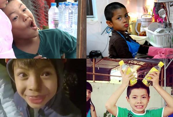 Nhung bieu cam 'kho do' cua sao Viet hinh anh 7 Bờm chính là cậu bé có biểu cảm khuôn mặt đa dạng nhất  Bố ơi mình đi đâu thế.