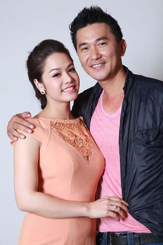 Phan 'lam dau' bat hanh cua La Thanh Huyen, Nhat Kim Anh hinh anh 3 Nhật Kim Anh và Quốc Cường nên duyên vợ chồng.