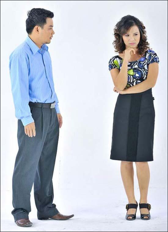 Phan 'lam dau' bat hanh cua La Thanh Huyen, Nhat Kim Anh hinh anh 4 Nữ diễn viên Thu Hạnh (phải) trong vai Minh Tâm.