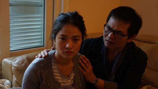 Phan 'lam dau' bat hanh cua La Thanh Huyen, Nhat Kim Anh hinh anh 5 Thúy Hằng tàn tạ trong bộ phim Mưa bóng mây.