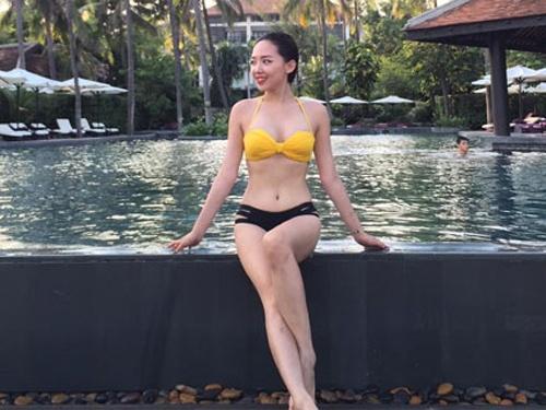 Sao Viet tranh thu dien bikini cuoi he hinh anh