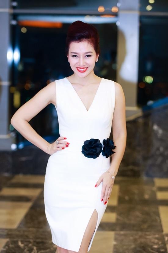 Hoa khoi Thu Huong lan dau tam su ve nguoi chong dao hoa hinh anh 1 Á hậu Quý bà Thế giới Thu Hương.