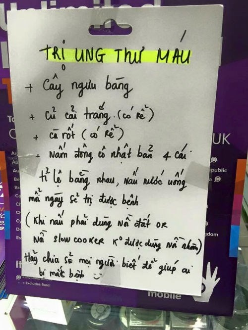 Canh duong sinh pha kem nuoc tieu co chua duoc benh ung thu? hinh anh 2