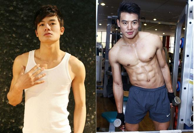 Hieu Nguyen va hanh trinh tang 14 kg, so huu co bung 6 mui hinh anh